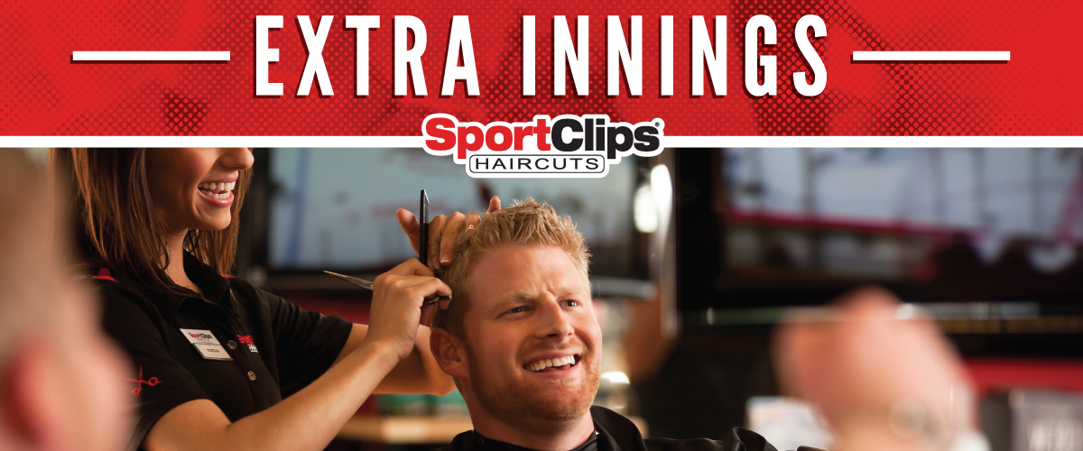 The Sport Clips Haircuts of Grand Island Extra Innings Offerings